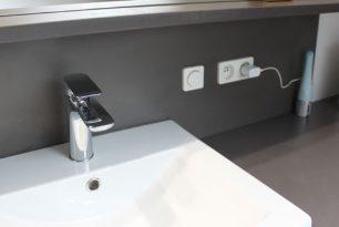 Règles d'isolation des points électriques dans une salle de bains